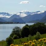 El fiordo Romsdalsfjord y la escalera de los trols